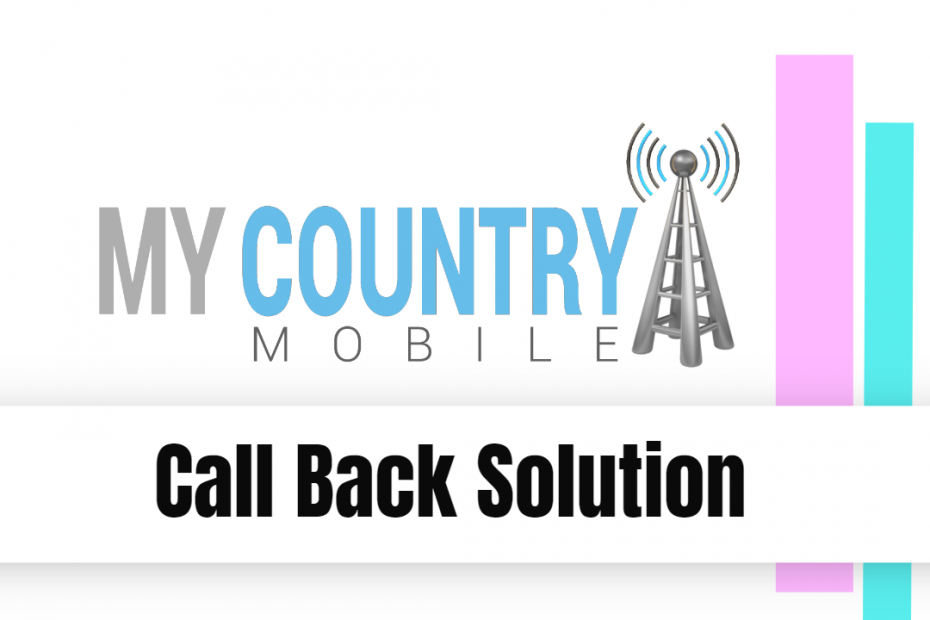 Call Back Solution - My Country Mobile